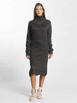 JACQUELINE de YONG Kleid jdySilk Plain grau