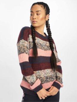 JACQUELINE de YONG Longsleeve jdyIris Stripe Knit purple