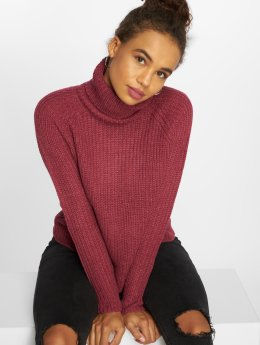 JACQUELINE de YONG Pullover jdyJusty red