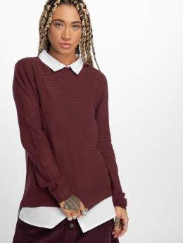 JACQUELINE de YONG Pullover  jdyMathison Knit red