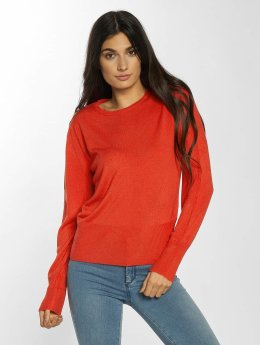 JACQUELINE de YONG Pullover jdyArobic rot