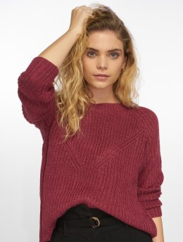 JACQUELINE de YONG Pullover jdyJusty 7/8 rot