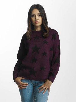 JACQUELINE de YONG Pullover jdyNoel Starspread violet