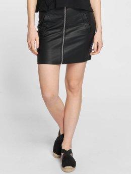 JACQUELINE de YONG rok jdyBounty Faux Leather zwart