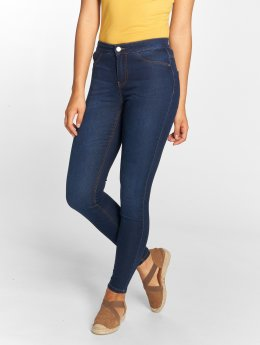 JACQUELINE de YONG Skinny Jeans jdyElla blå