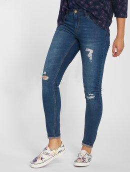 JACQUELINE de YONG Skinny Jeans jdyFlora blau