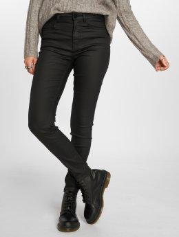 JACQUELINE de YONG Skinny Jeans jdyElyn Coated czarny