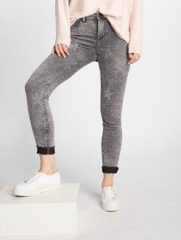 JACQUELINE de YONG Skinny Jeans jdyEvita grau