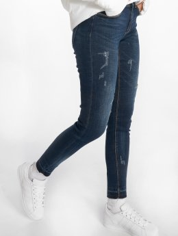 JACQUELINE de YONG Skinny Jeans jdyFling Ankel niebieski