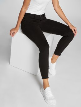 JACQUELINE de YONG Skinny Jeans jdyFive Regular Ankle schwarz