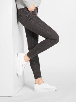 JACQUELINE de YONG Skinny Jeans jdyFlora schwarz
