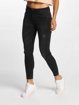 JACQUELINE de YONG Skinny Jeans jdySkinny Low Jake szary