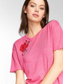JACQUELINE de YONG T-paidat jdyClaire vaaleanpunainen