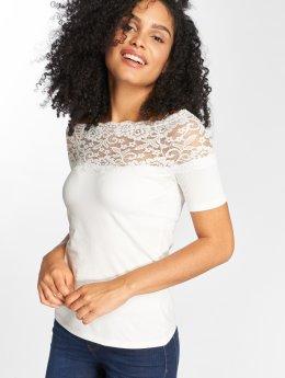 JACQUELINE de YONG T-paidat jdyDomino Lace valkoinen