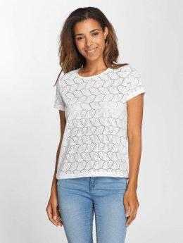 JACQUELINE de YONG T-Shirt jdyTag Lace blanc