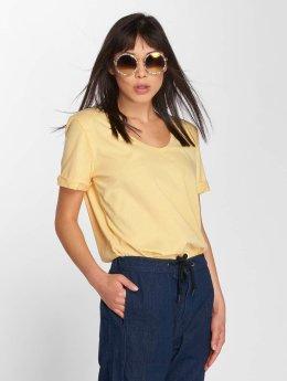 JACQUELINE de YONG t-shirt jdyDarry geel