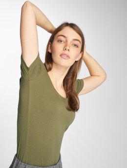 JACQUELINE de YONG T-Shirt jdyAva grün