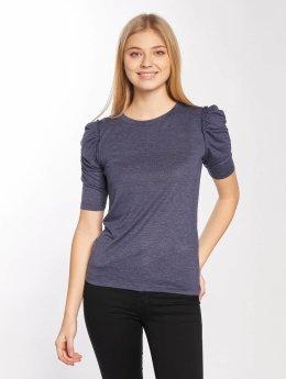 JACQUELINE de YONG T-Shirt manches longues jdyFanny 2/4 Puff Sleeve bleu