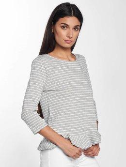 JACQUELINE de YONG T-Shirt manches longues jdyBuzz 3/4 gris