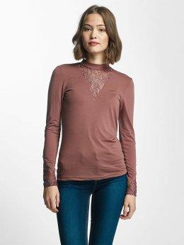 JACQUELINE de YONG T-Shirt manches longues jdyFabia rose
