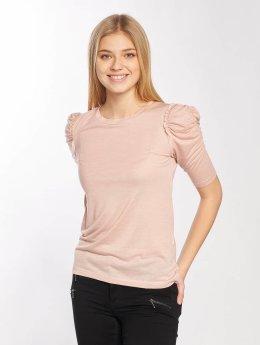 JACQUELINE de YONG T-Shirt manches longues jdyFanny 2/4 Puff Sleeve rose