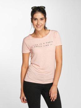JACQUELINE de YONG T-Shirt jdyRainbow rosa