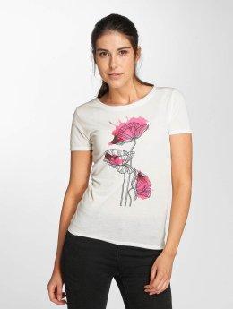 JACQUELINE de YONG T-Shirt jdyRainbow weiß