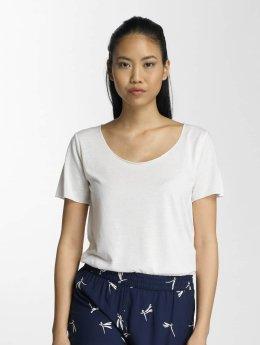 JACQUELINE de YONG t-shirt jdyLinette wit