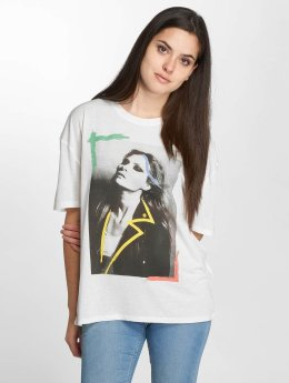 JACQUELINE de YONG t-shirt jdyCarolina wit