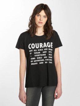 JACQUELINE de YONG t-shirt jdyNixon zwart