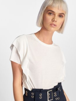 JACQUELINE de YONG T-Shirty jdyAngle  bialy