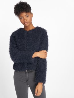 JACQUELINE de YONG Transitional Jackets jdyElsa Fluffy Short blå
