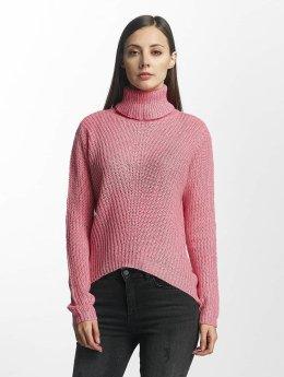 JACQUELINE de YONG trui jdySanna Highneck pink