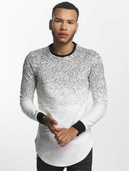 John H Пуловер Dots белый