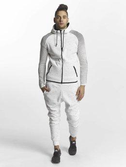John H Anzug Flecked weiß
