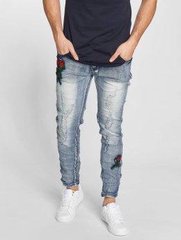 John H Slim Fit Jeans Roses blauw