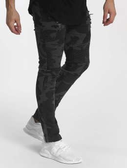 John H Slim Fit Jeans Camo camouflage