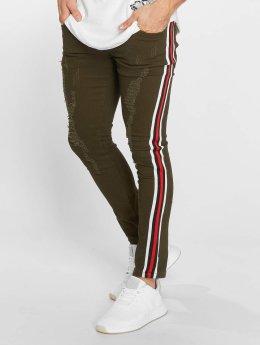 John H Slim Fit Jeans Logan groen