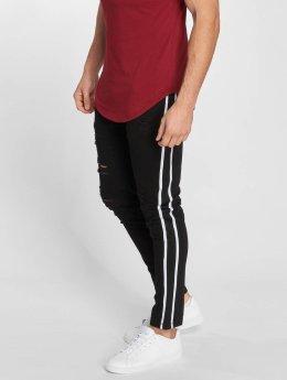 John H Slim Fit Jeans Logan svart
