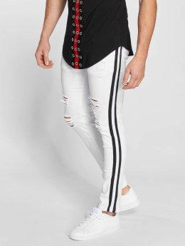 John H Slim Fit Jeans Mason vit