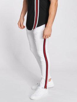 John H Slim Fit Jeans Logan wit