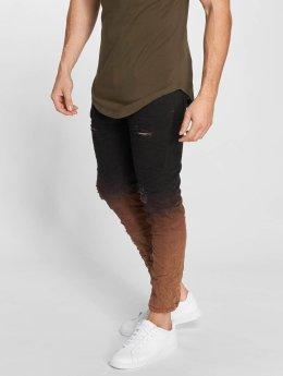 John H Slim Fit Jeans 2 Tone zwart