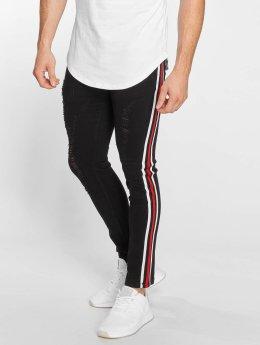 John H Slim Fit Jeans Logan zwart