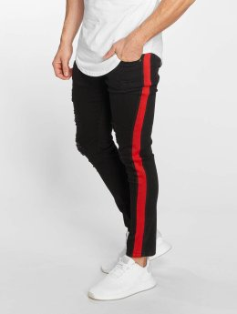 John H Slim Fit Jeans Mason zwart