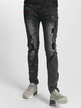 John H Straight Fit Jeans Rose grau