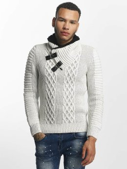 John H Sweat & Pull Knit blanc