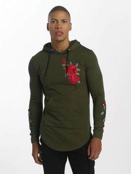 John H Sweat capuche Rose vert