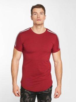 John H T-paidat Stripe punainen