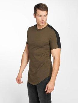 John H T-shirt Jonas grön