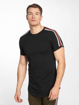 John H T-Shirt Stripe noir